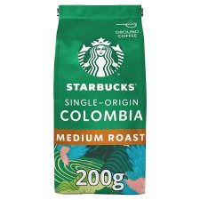 Starbucks Colombian Ground Coffee 200G
