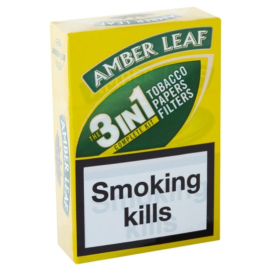 Amber Leaf 3 In 1 Roll Your Own 12.5G