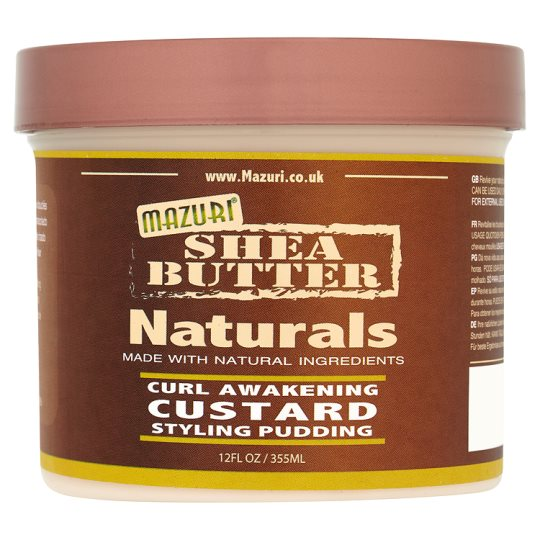 Mazurisheabutter Natural Curl Styling Pudding 355Ml