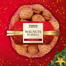 Tesco Walnuts In Shell 350G