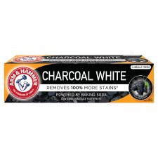 Arm And Hammer Charcoal White 75Ml