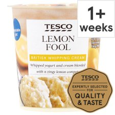 Tesco Fruit Fool Lemon 114G