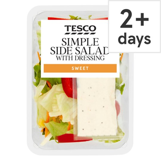 Tesco Simple Salad With Sour Cream And Chive 165G