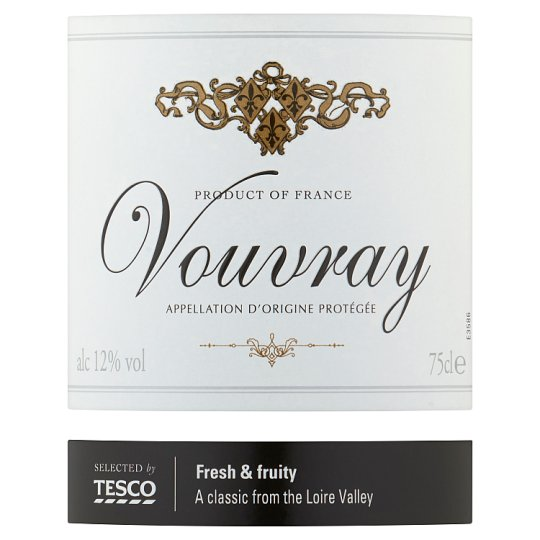 Tesco Vouvray 75Cl