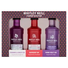 Whitley Neill Flavoured Gin Gift Pack 3X5cl