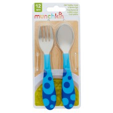 Munchkin Toddler Fork And Spoon Set