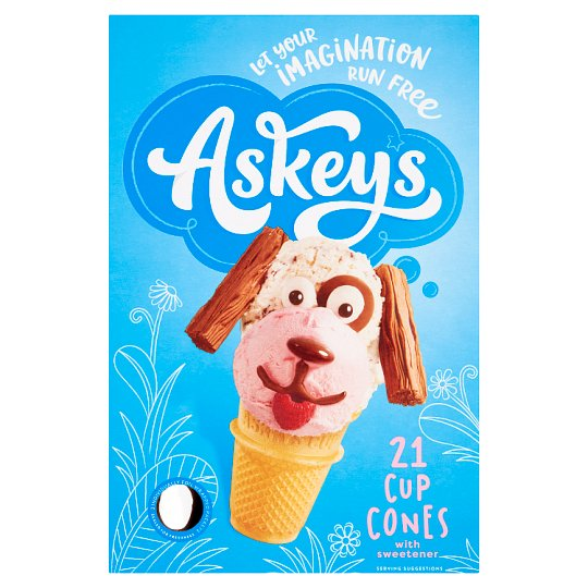 Askeys Cup Cornets 21'S