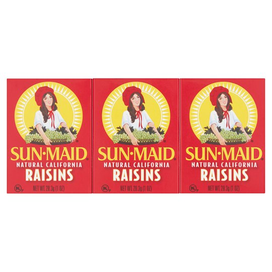 Sun Maid Raisins Snack Pack 6X28.3G
