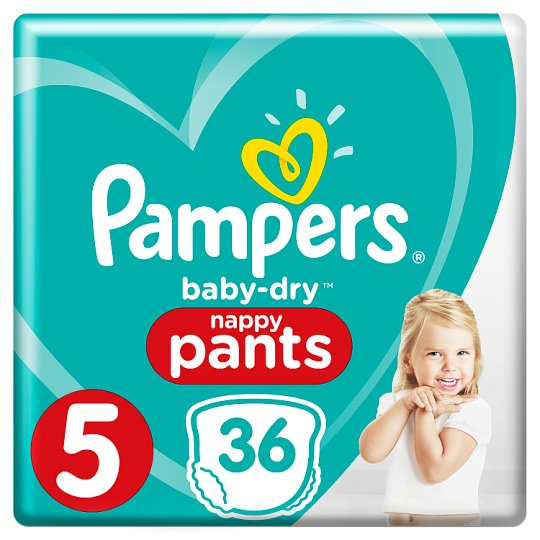 image 1 of Pampers Baby-Dry Pants Size 5 36 Pack