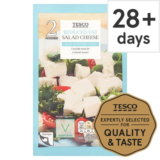 Tesco Reduced Fat Cheese Salad 200G