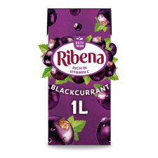 Ribena Ready To Drink Blackcurrant 1 Litre