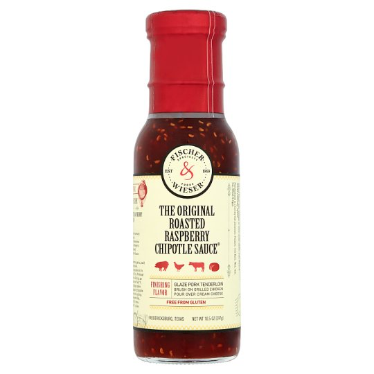 Fischer And Wieser Roasted Raspberry Chipotle Sauce 297G