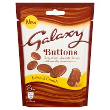 Galaxy Buttons Caramel Crunch Pouch 93G