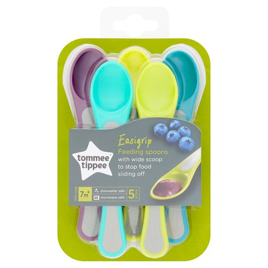 Tommee Tippee Explora Feeding Spoons X5