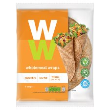 Weight Watchers Wholemeal Wraps 6 Pack