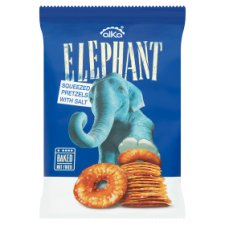 Alka Elephant Pretzels Sea Salt 80G