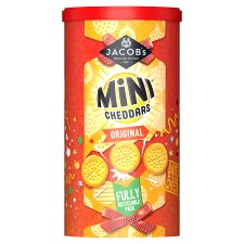 Jacob's Mini Cheddars Christmas Caddy 260G
