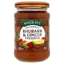 Mackays Rhubarb And Ginger Preserve 340G