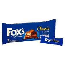 Fox's Classic Biscuit Bars 7 Pack