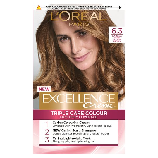 image 1 of L'oreal Paris Excellence 6.3 Light Golden Brown