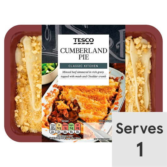 Tesco Cumberland Pie 450G
