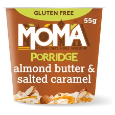 Moma Porridge Almond Butter & Salted Caramel 55G
