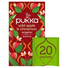 Pukka Organic Apple Cinnamon Ginger 20 Tea Bags 40G