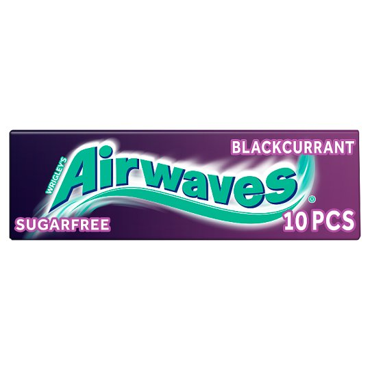 Airwaves Blackcurrant Gum 10 Pieces