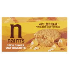 Nairns Stem Ginger Oat Biscuit 200G (L)