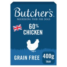Butchers 60% Chicken 400G Tray