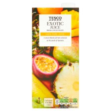 Tesco Pure Exotic Juice 1 Litre
