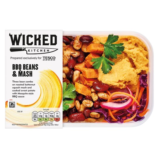 Wicked Kitchen Bbq Beans And Mash 345G