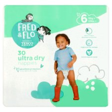 Fred And Flo Ultradry Size 6 Economy Pack 30