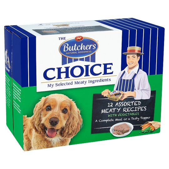 Butchers Choice Dog Food Trays 12 X150g