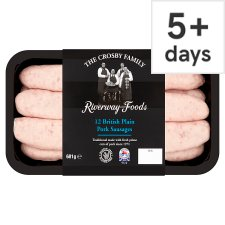 Riverway 12 Traditional Pork Sausages 681G