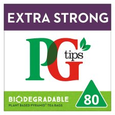 Pg Tips Extra Strong Pyramid 80S Teabags 232G