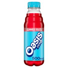 Oasis Summer Fruits Zero 500Ml