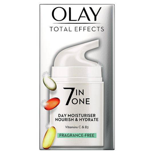 image 1 of Olay Total Effects Anti-Aging Fragrance Free Moisturiser 50Ml