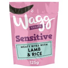 Wagg Sensitive Treats Lamb And Rice 125G