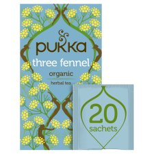 Pukka Organic Three Fennel 20S 36G