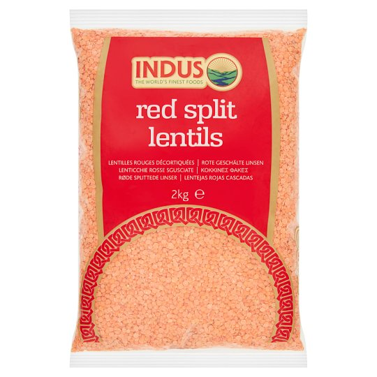 Indus Red Split Lentils 2Kg