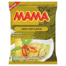 Mama Noodle Green Curry 90G