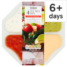 Tesco Tex Mex Multipack Dips 428G