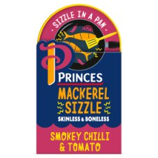 Princes Mackerel Sizzle Smokey Chilli 160G