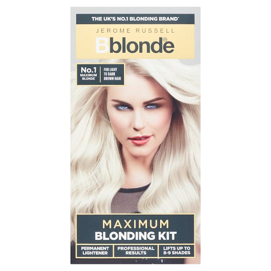 Jerome Russell B Blonde Maximum Blonding Kit