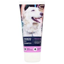 Tesco Deodorising Dog Shampoo 200Ml
