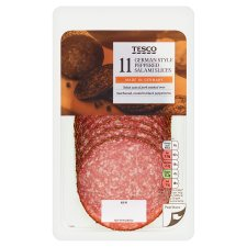 Tesco German Peppered Salami 110G