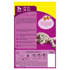 image 3 of Whiskas 7+ Chicken Senior Dry Cat Food 1.9Kg