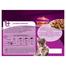 image 3 of Whiskas 1+ Casserole Meaty Selection Cat Pouches 12 X85g