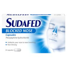Sudafed Blocked Nose Caps 24S